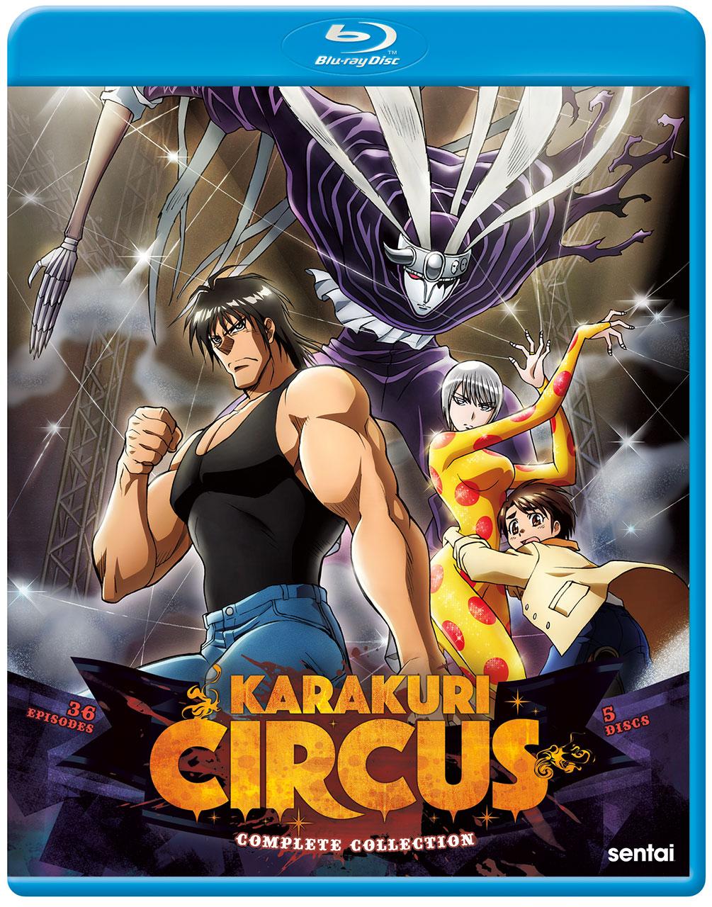 Karakuri Circus Blu-Ray Cover